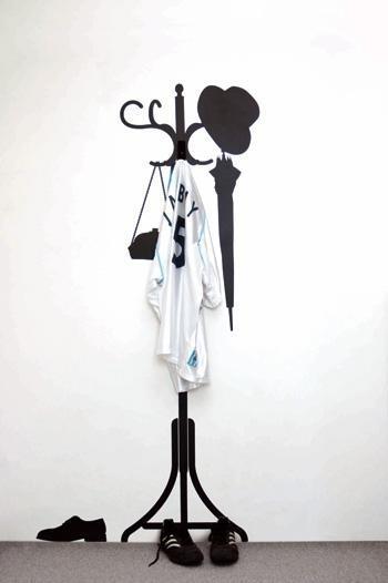 Kapstok + hanger / V115
