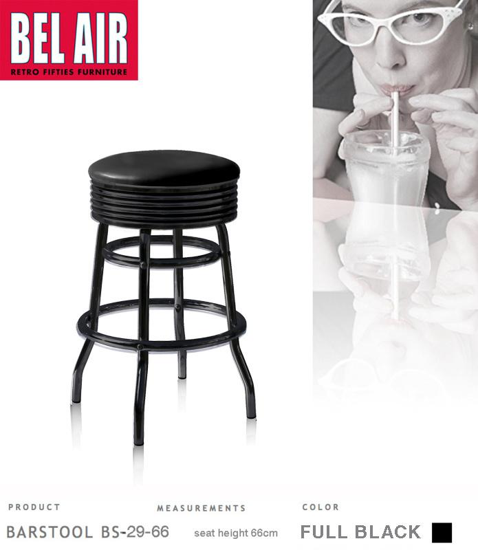 Bel Air BS-29 Fifties Full Black