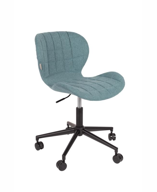 OMG Bureaustoel Verstelbaar Blue