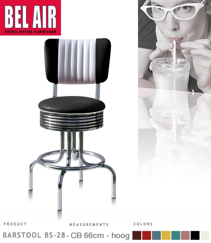 Bel Air BS-28-CB66 Kruk Zwart