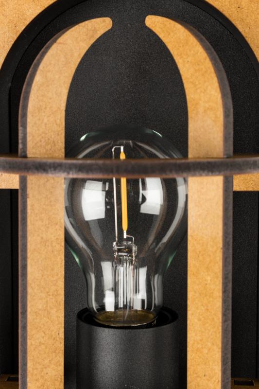 Navigator wandlamp zwart