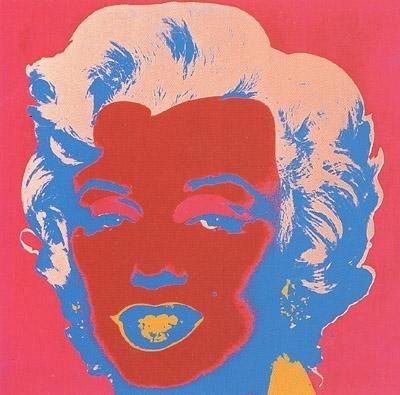 POP ART Marilyn Monroe / Andy Warhol