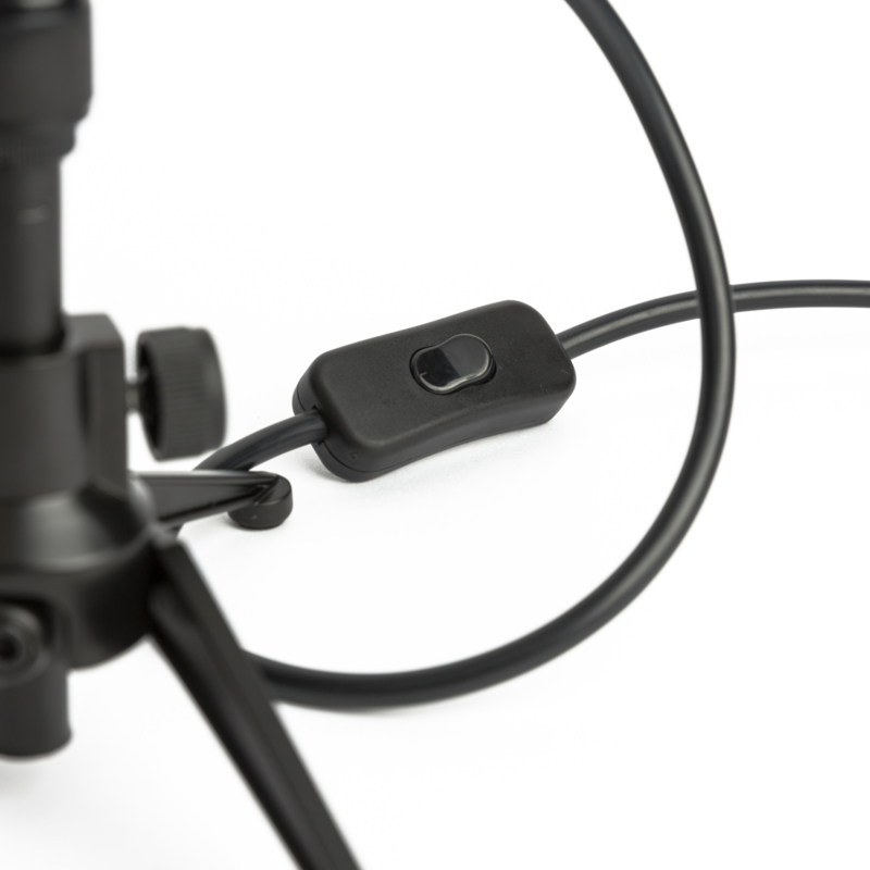 Microphone Tafellamp Shure SM58 Wooden Black