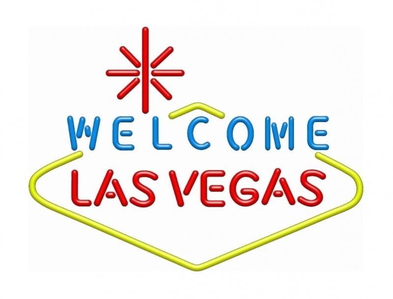 Neon retro sign - Welcome Las Vegas