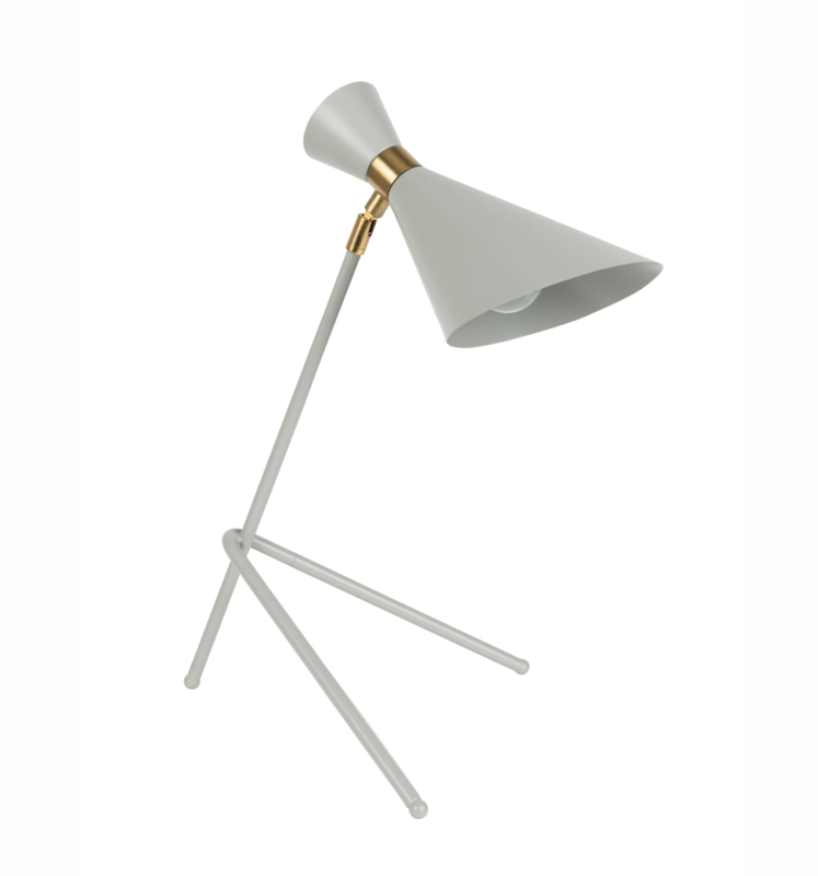 Tafellamp Shady Zuiver grey