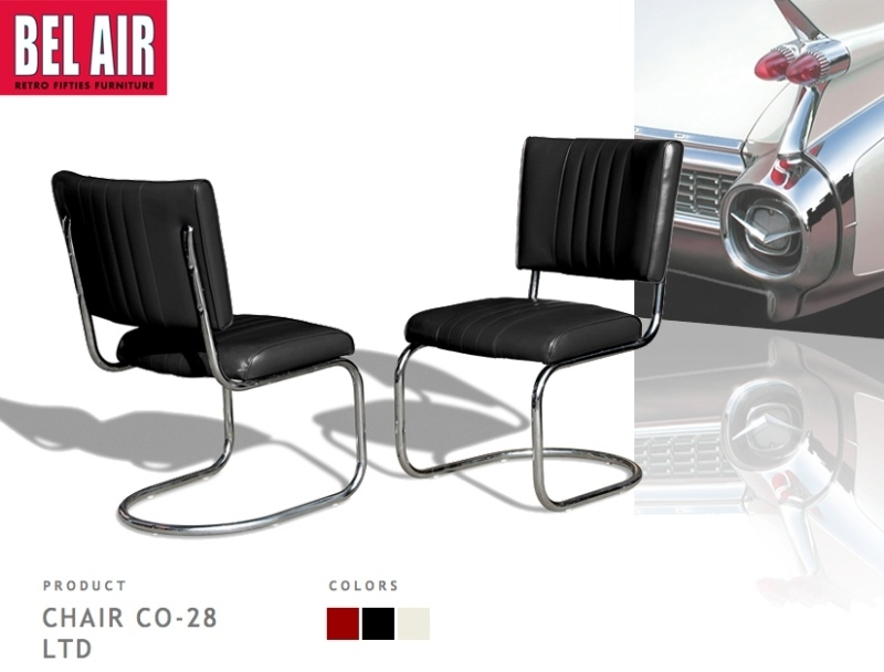 Vintage Chair CO-28 LTD black