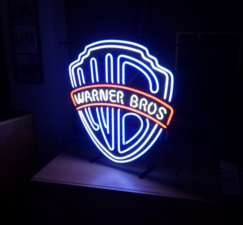 Retro Neon Sign - Warner Brothers