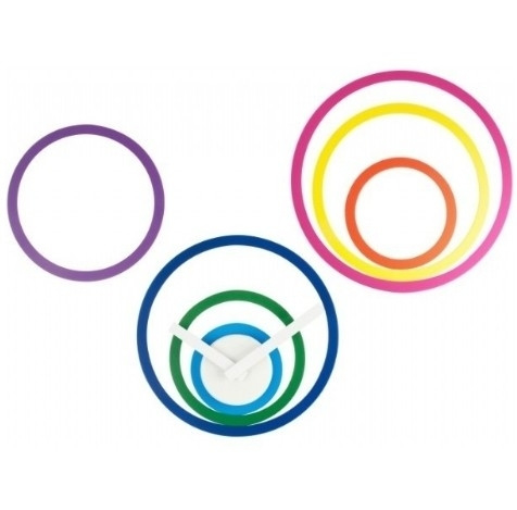 Multi Circle klok