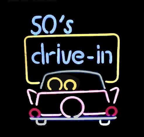 Neon verlichting - 50`s Drive-in
