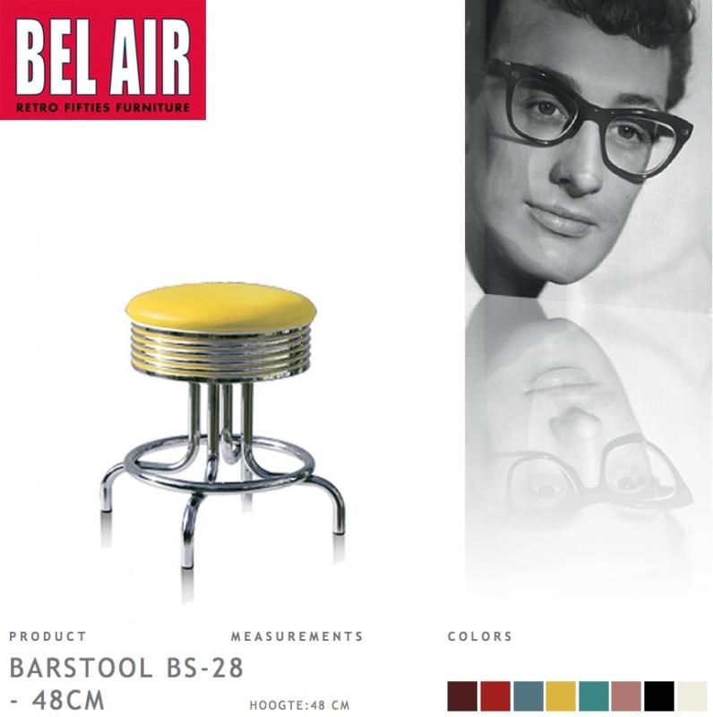 Bel Air kruk BS-28-48 yellow