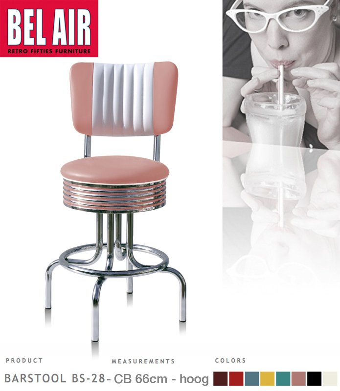 Bel Air BS-28-CB66 Kruk Roze