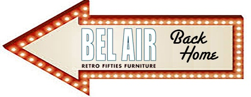 Bel Air retro furniture 50ies design