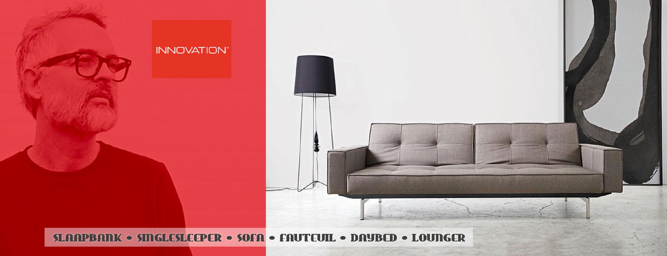 Leuke Grijze Slaapbank.Innovation Living Slaapbanken Zitbanken Daybeds Design Banken