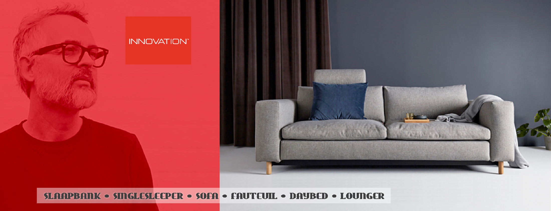 Slaapbank Design Outlet.Innovation Living Slaapbanken Zitbanken Daybeds Design Banken