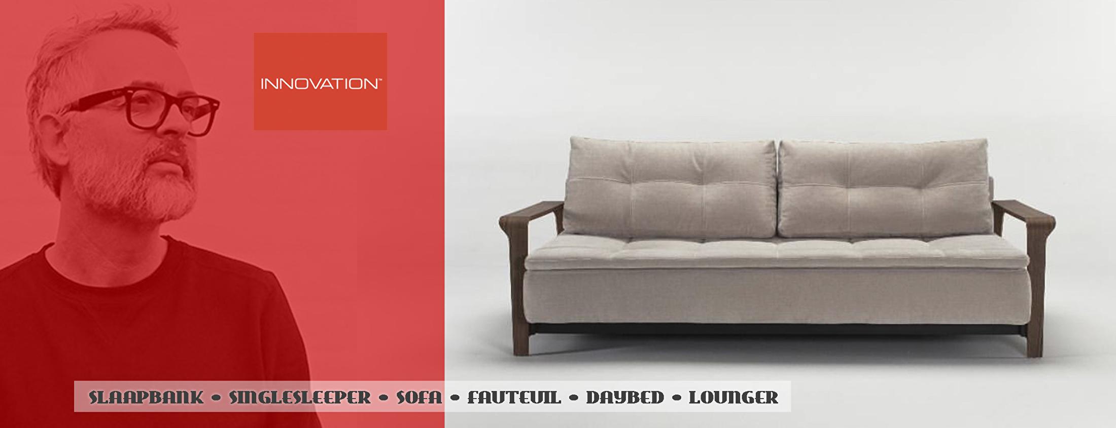 Luxe 2 Persoons Slaapbank Bedbank.Innovation Living Slaapbanken Zitbanken Daybeds Design Banken