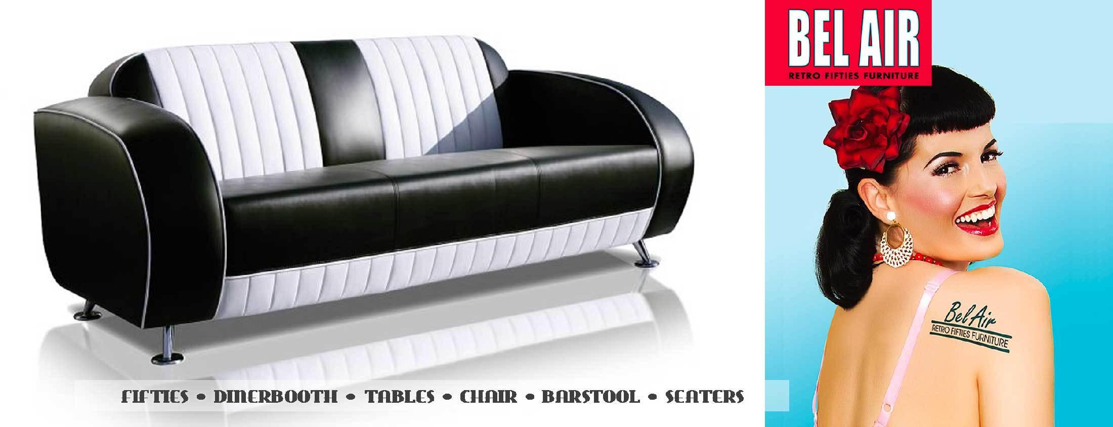 Tweedehands Fifties Meubelen.Fifties Retro Furniture Amerikaanse Meubels Diner Bar