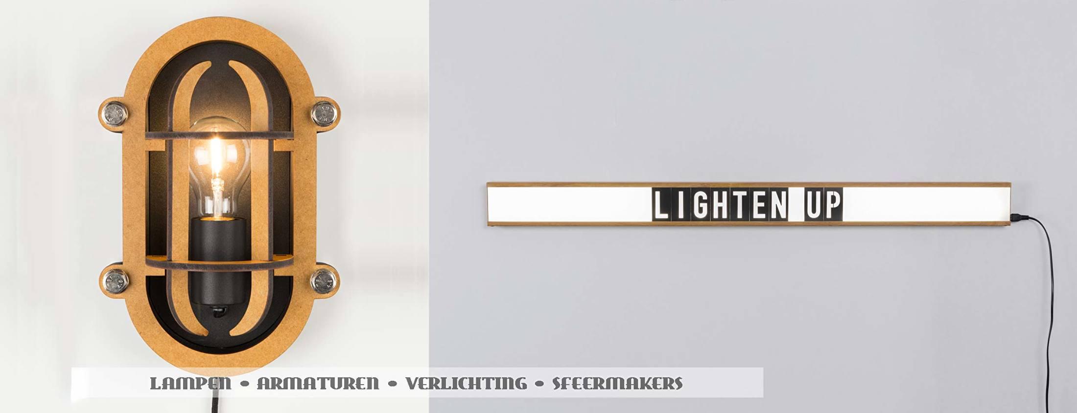 Zuiver verlichting exentriek, industrieel, natuurlijk Dutch Design
