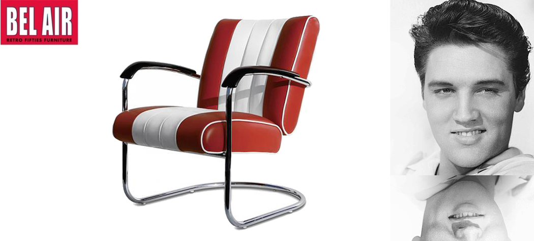 Lounge Chair LC-01 in 7 vintage kleuren Bel Air Retro Furniture