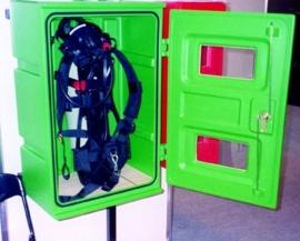 JBDG-85 Jonesco brandblusserkast groen