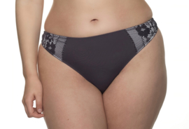Lauren string dark grey L