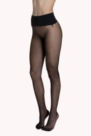 Panty Naadloos 15 den. zwart of d.huid