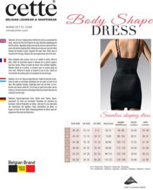 Body shape dress zwart  M of  L