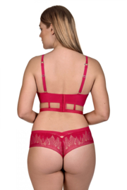 Soul bustier in rood (Lisca Selection)
