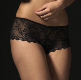 Anna boxer lace in zwart, wit, rood en offwhite