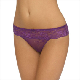 Daily lace string in paars M