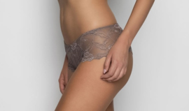 Anna boxer lace in taupe