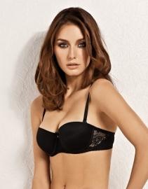 Irina pushup balconet/strapless /multiway bh zwart 75B