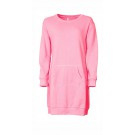 Loungejurk / sweatdress rose L