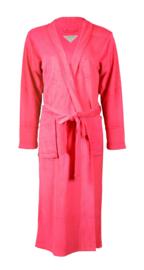 Badjas Tenderness katoen pink