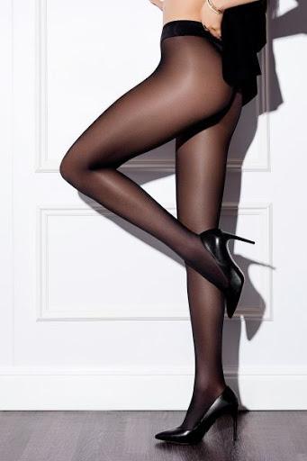 Panty Selection 40 den. zwart of huid