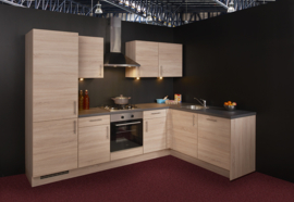 Keuken 124, Nobilia Rio Virginia Oak, 285x187 cm. en supercompleet