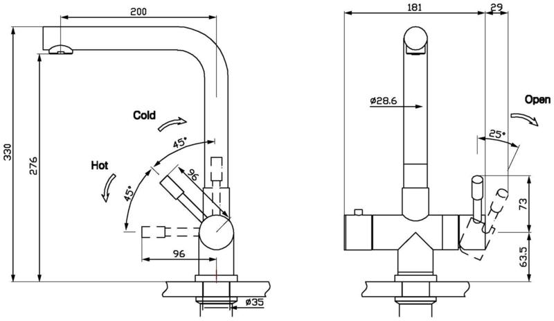 FRANKE Mondial 3-in-1 COMBI set RVS 10L 1190480685