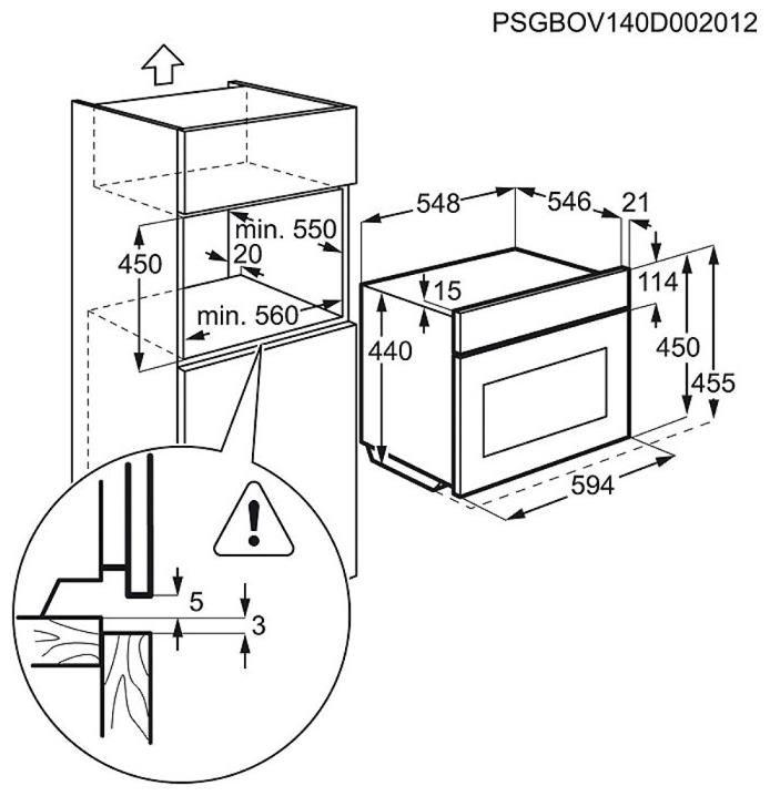 AEG Compacte StoomOven KSK792220M