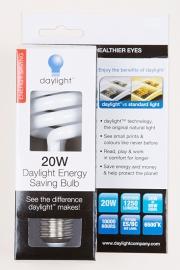 Daylight 20W Daylight Energy Saving Bulb