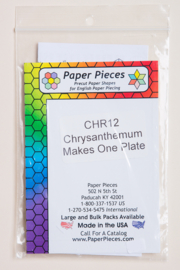 Paper Pieces - CHR12 Chrysanthemum