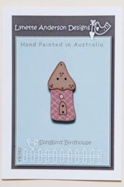 Lynette Anderson Designs - Songbird Birdhouse