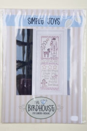 The Birdhouse Patchwork designs - Simple Joys