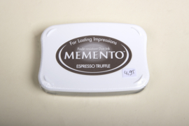 Memento - Stempelinkt Espresso Truffle