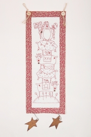 The Birdhouse Patchwork designs - Deck the halls