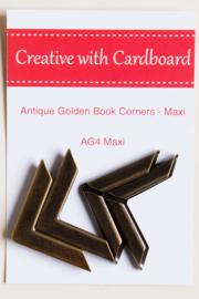 Rinske Stevens design - Antique Golden Book Corners maxi