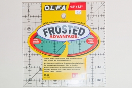 Olfa Frosted Advantage 6,5 x 6,5""