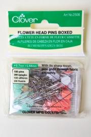 Clover Flower head pins boxed