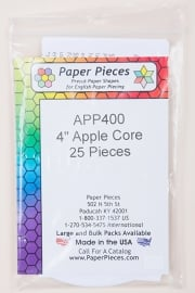 "Paper Pieces - APP400 4""Apple Core 25 pieces"