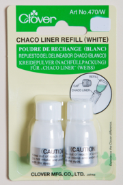 Clover Chaco Liner Refill white