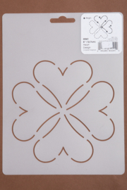 "HH41 5"" Heart Design"