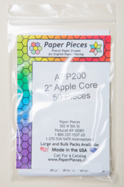 "Paper Pieces - APP200 2"" Apple Core 50 Pieces"